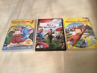 3 Kids Dvds