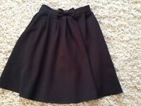 Girls assorted black school skirts