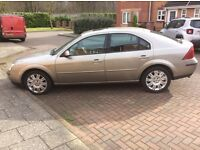 Ford Mondeo Ghia X 2002. Full leather interior.