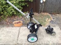 Hill Billy hi lite electric golf trolley no battery