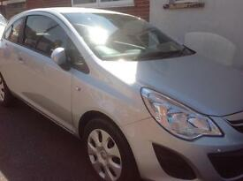 2013 Vauxhall Corsa Exclusive A/C.