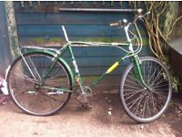 26 inch classic puch bike 3 gears spears or repairs