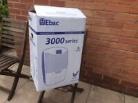 Ebac 3000 dehumidifier. New and unused.