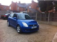 Suzuki Swift 1.5 GLX 5dr, ONE PREVIOUS OWNER, FULLY SERVICED, DRIVES VERY WELL.