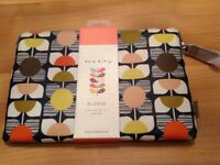 Orla Kiely Laptop Sleeve. New