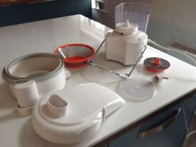 SUPER JUICER dishwasher friendly juicer