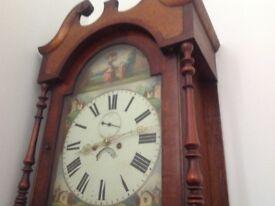 GRANDFATHER CLOCK. £495 ono