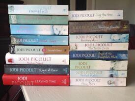 Jodi Picoult - 16 books, £5 the lot!