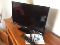 """BLAUPUNKT 24"""" HD READY LED TV with built in DVD"""