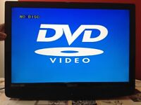 Technika 22 inch HD LCD TV with built in DVD, Freeview, no stand, wall mount