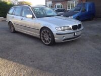 Bmw 320 touring auto/sports remapped