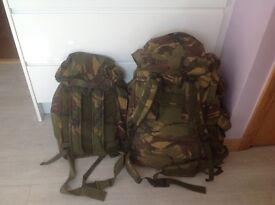British army rucksacks