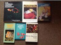 Marine Fish Hardback Books X 6