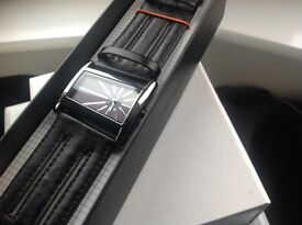 River Island Men's Watch Casual Urban BOXED MINT CONDITION