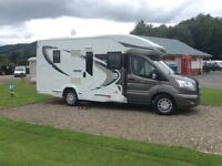 Chausson 610 Welcome (2016) 4 berth motorhome. Packed with extras.