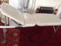 Massage Table (Adjustable & Foldable)