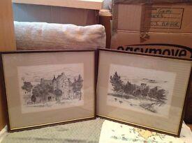 2 Prints of Jedburgh