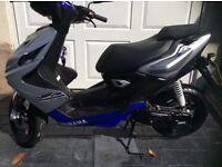 Yamaha Aerox 50 2015 low mileage scooter