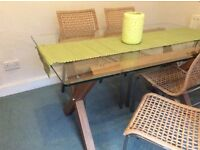 Next Dining table and 5 chairs