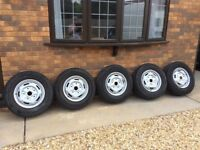 2010 Transit wheels & tyres for sale