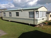 HOLIDAY STATIC CARAVAN FOR RENT LATE DATE SAT23/9/17 7 NTS £250AT DEVON CLIFFS EXMOUTH IN DEVON