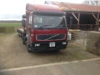 2004 Volvo FL6 2 axle artic plant mover trailer 25000KG Gross