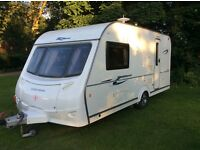 2008 model coachman wanderer 15/2 2 berth with motor mover and extras