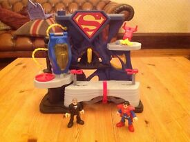 Imaginext fortress of solitude