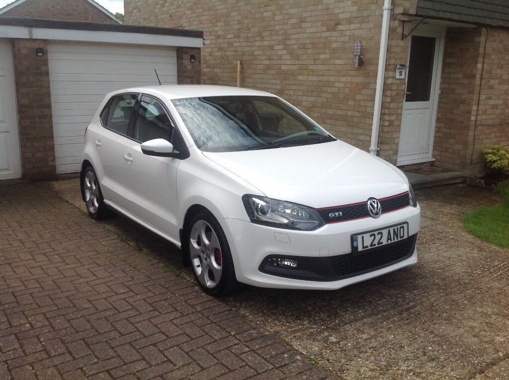 2012 vw polo gti 5dr 1 4 180bhp dsg automatic in candy. Black Bedroom Furniture Sets. Home Design Ideas