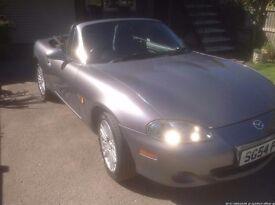 Mazda Mx 5 2004, Convertible, 98,000 miles, 1.8L Petrol, Average B/W, LHS, MOT Dec, recent service.