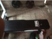 Heavy duty Olympic flat bench (weight bench)