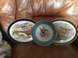 Pheasants plates