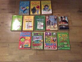 13 Children's books; Wimpy Kid, David Walliams and more