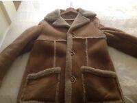 gents genuine sheepskin coat