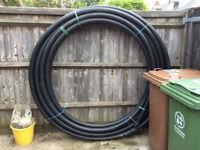 **Massive** 38 Metre Length Coil Black 63 x 50M 16BAR Drainage Pipe