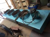 4 bag dust extractor 7 HP ALL COMPLETE 3 Phase text questions to John 07796141316