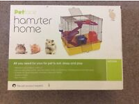 Petface Hamster Cage, mice, gerbils, dwarf hamster. Medium size. BNIB
