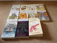 M C Beaton. Agatha Raisin Books