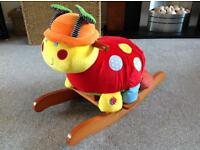Mamas and Papas Lottie ladybird rocker - excellent condition