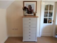 Stunning Solid Pine Seven Drawer Chest