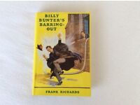 BILLY BUNTER'S BARRING OUT HARDBACK BOOK