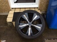 5x112 mania alloy wheels