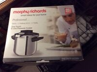 Morphy Richards, Stainless Steel, Professional Pressure Cooker
