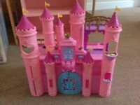 Pink Toy Castle