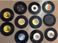 Turntable with Reggae records . ( no offers )