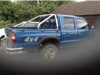 Mazda double cab pick up