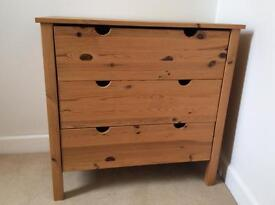 Ikea 3 Drawer Chest of Drawers