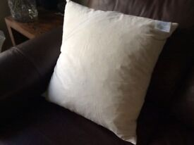 Feather filled cushion pad 50 x 50 cm