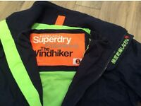 Superdry Jacket - Size Small - Navy/Green