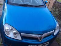 Tigra convertible blue full mot just serviced half leather alloy wheels CD player